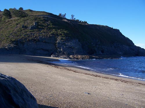 Vistas de la Playa de Arnelles